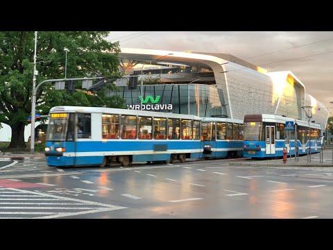 Polska Jest Piękna - Trams In Wrocław - Poland Travel - Du Lịch Châu âu