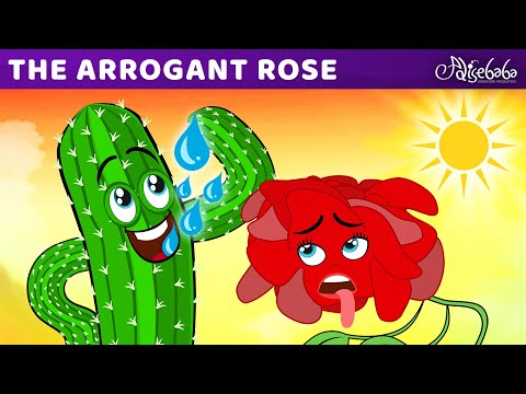 The Arrogant Rose   Bedtime Stories for Kids in English   Fairy Tales