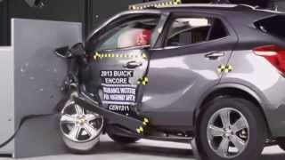 IIHS - 2013 Buick Encore crash tests /moderate overlap /side/ small overlap/