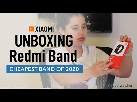 Redmi Band Unboxing