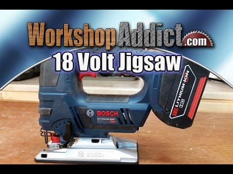 BOSCH 18 Volt Jig Saw - JSH180