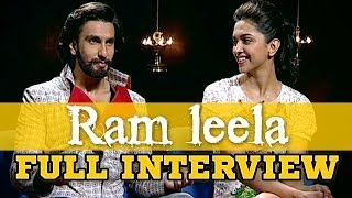 vuclip Deepika Padukone & Ranveer Singh talk about Ram leela, Flirting, Romance, Love, Relationships & more