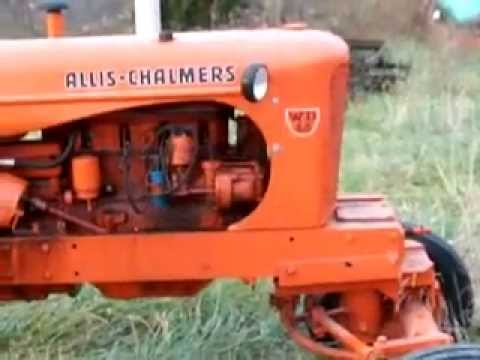 How To Tell An Allis Chalmers Wd From A Wd45