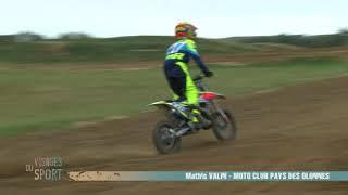 Visages du sport : Mathis Valin, motocross