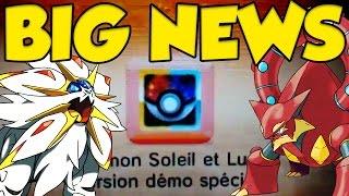 CRAZY POKEMON NEWS UPDATE! Pokémon Sun and Moon Demo & Legendary Events!