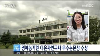 [안동MBC뉴스]콩 신품종 개발 가능성 커