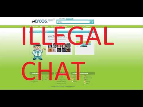 Lycos Chat Aka Worldsbiggestchat Breaking Laws. Educational Information Only.