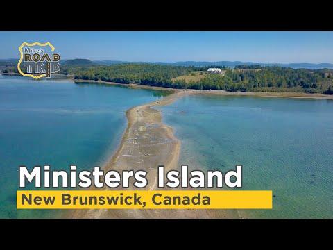 Ministers Island in New Brunswick, Canada