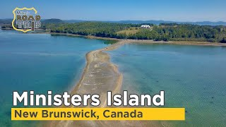 Ministers Island in New Brunswick, Canada