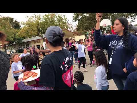 Norseman Elementary School festivals dance group.