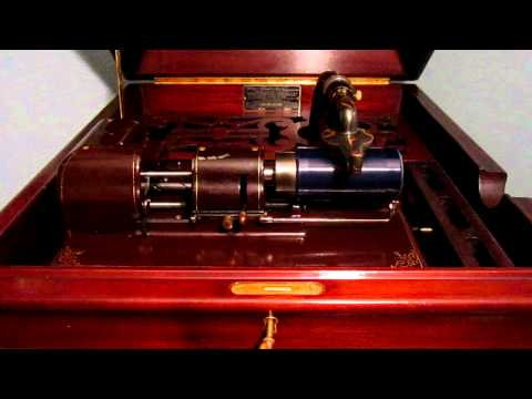 Edison Blue Amberol Cylinder #3961 It`s the Smart Little Feller Who Stocks Up His Cellar.....
