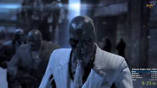Batman: Arkham Origins any% speedrun on hard mode in 1:34:02 (WR)