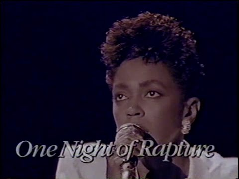 Anita Baker - One Night Of Rapture (1987)