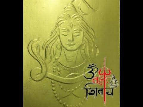 Nail Art - Lord Shiva - Nakha Chitram By Malathi Netaji