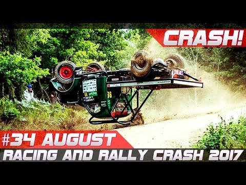 Racing and Rally Crash Compilation Week 34 August 2017