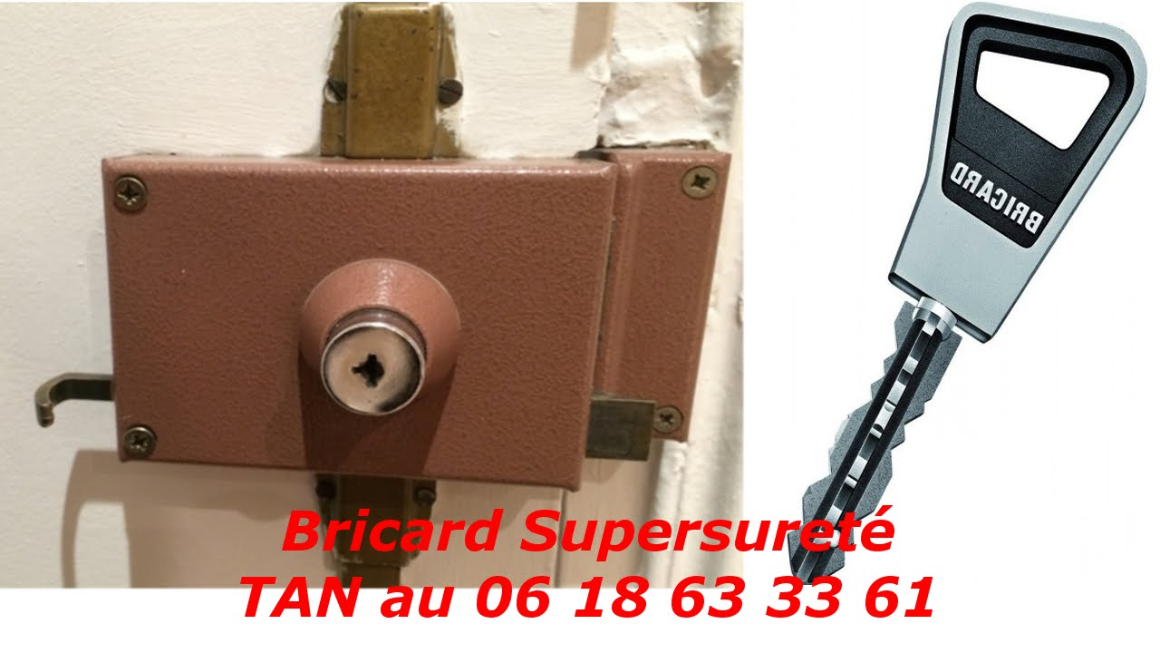 tutoriel changer de serrure bricard super suret pas cher youtube. Black Bedroom Furniture Sets. Home Design Ideas