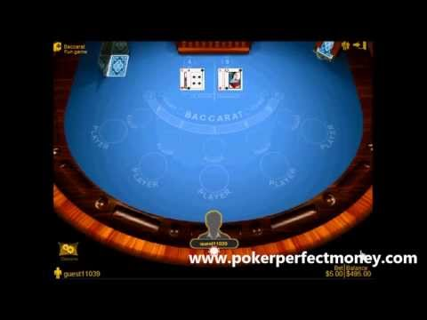 Playing Baccarat In Poker Perfectmoney Online Casino That Accepts Bitcoin Payments