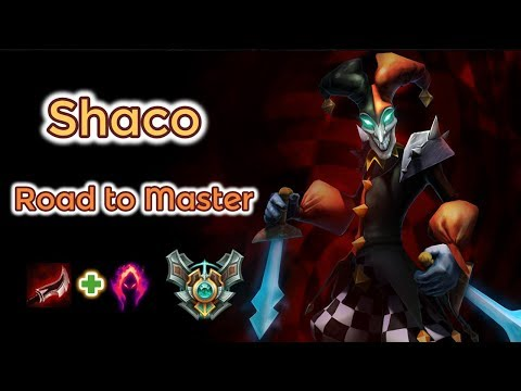 Shaco Diamond 3 Ranked - Road to Master [League of Legends] Full Gameplay - Infernal Shaco