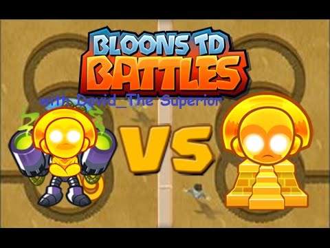 Bloons TD battles MAXED Temples vs sun-terror w/ David_The Superior!