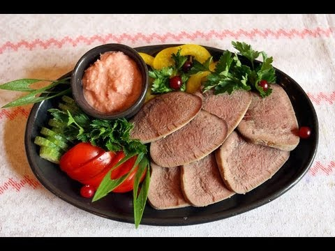 how to cook beef tongue youtube