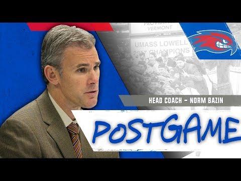 Norm Bazin Post-Game Interview vs. Harvard (12/29/17)