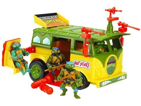 Old Toys from the Attic Ninja Turtles and more.... - YouTube