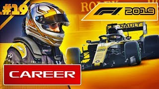 F1 2019 Career Mode Part 19: RAIN ON THE FORMATION LAP
