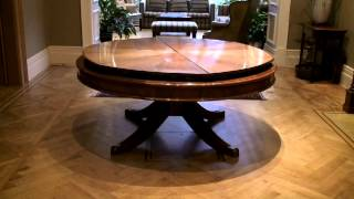 Круглый стол трансформер