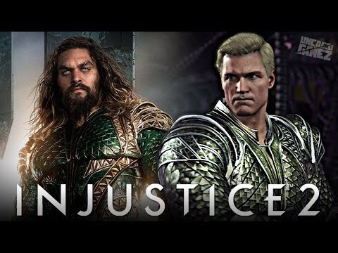 Thumbnail: Injustice 2 Ranked Online - AQUAMAN'S Justice League Gear is AWESOME!!