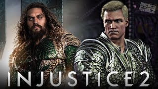 Injustice 2 Ranked Online - AQUAMAN'S Justice League Gear is AWESOME!!