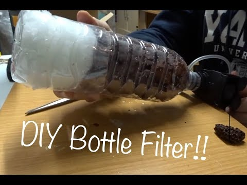 DIY Aquarium Bottle Filter - Quick, Cheap, Easy and Awesome