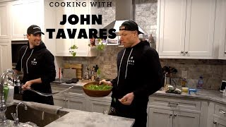 COOKING WITH JOHN TAVARES - TORONTO MAPLE LEAFS