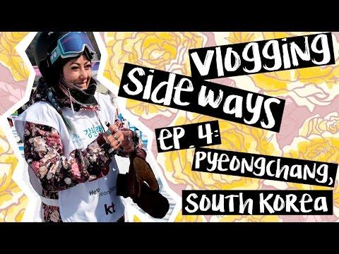 VLOGGING SIDEWAYS ep 4! PYEONGCHANG, SOUTH KOREA!
