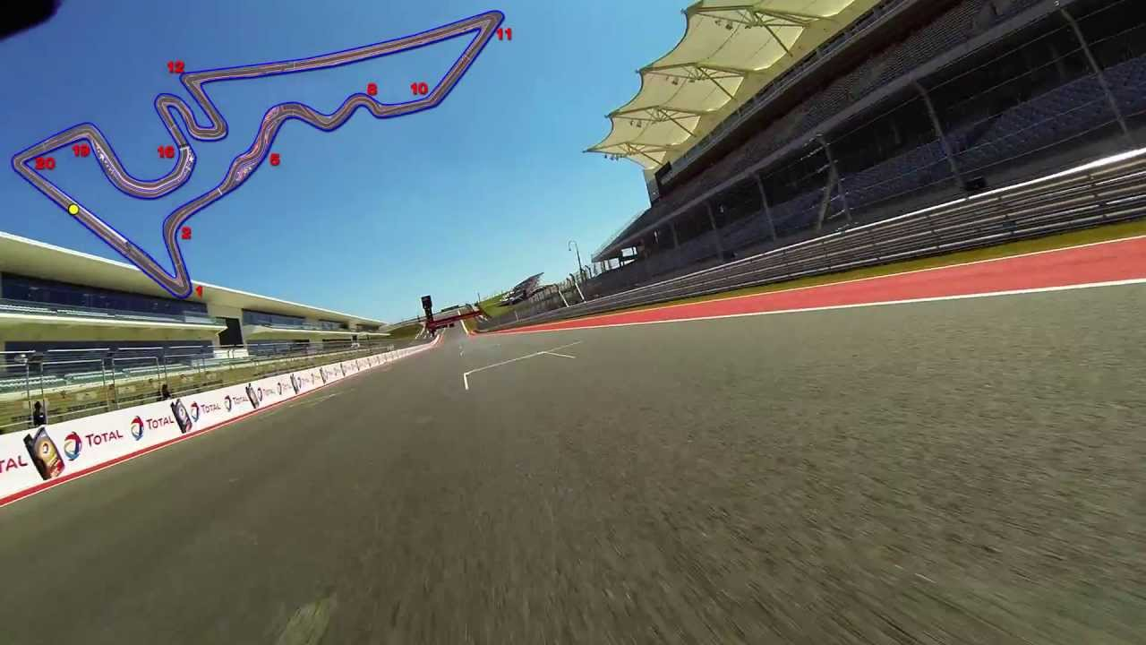 Circuit Of The Americas Motogp Rider S Pov Youtube