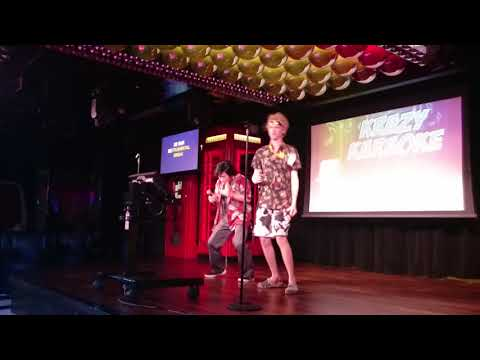 Take on me karaoke with Leeland Chee