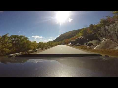 A drive around Park Loop Road in Acadia National Park