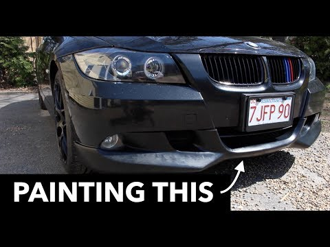 PAINTING My Sport Bumper Lip // BMW E90