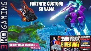 Fortide Customi with MelloTV + we took an emana AUTO!!! + Giveaway 5x 500 V-BUCKS!!!