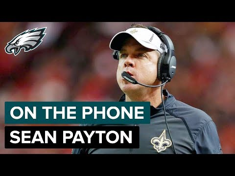 Saints Head Coach Sean Payton on Eagles Defense & Superdome Advantage | On the Phone