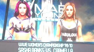WWE 2K19 PS4 CARMELLA VS SASHA BANKS FOR WOMEN'S CHAMPIONSHIP
