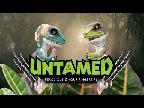 Fingerlings - Untamed! Det sejeste dinosaur legetøj!