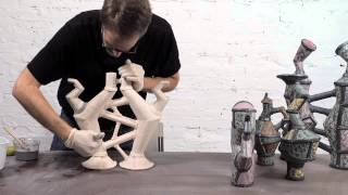 Pottery Video: How to Enhance Texture with One Versatile Glaze and Some Colorants   SCOTT DOOLEY
