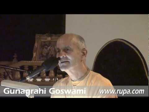 Lecture - Gunagrahi Goswami - BG 12.13-14 - Qualities of a Devotee
