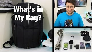 What's in my Bag - How I got through MWC 2015