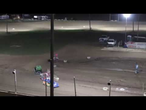 Mini Wedge Heat Race #2 6-9 YRS at Crystal Motor Speedway, Michigan on 09-01-2019!