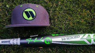 Jan 18 BP - Baseball Zone - 2019 Worth Wicked XL USSSA Jason Branch Signature