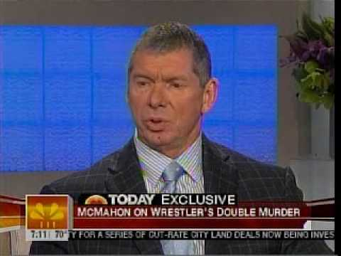 Vince McMahon Today Show about Benoit