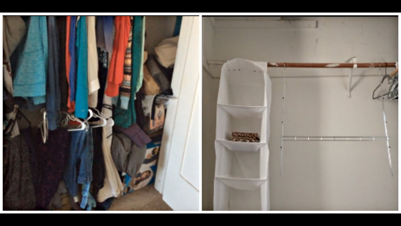 Bedroom Closet Declutter Part 3 | Vlogtober 2015 Day 10