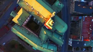 rusalka lublin DRON INSPIRE1 nad Lublinem