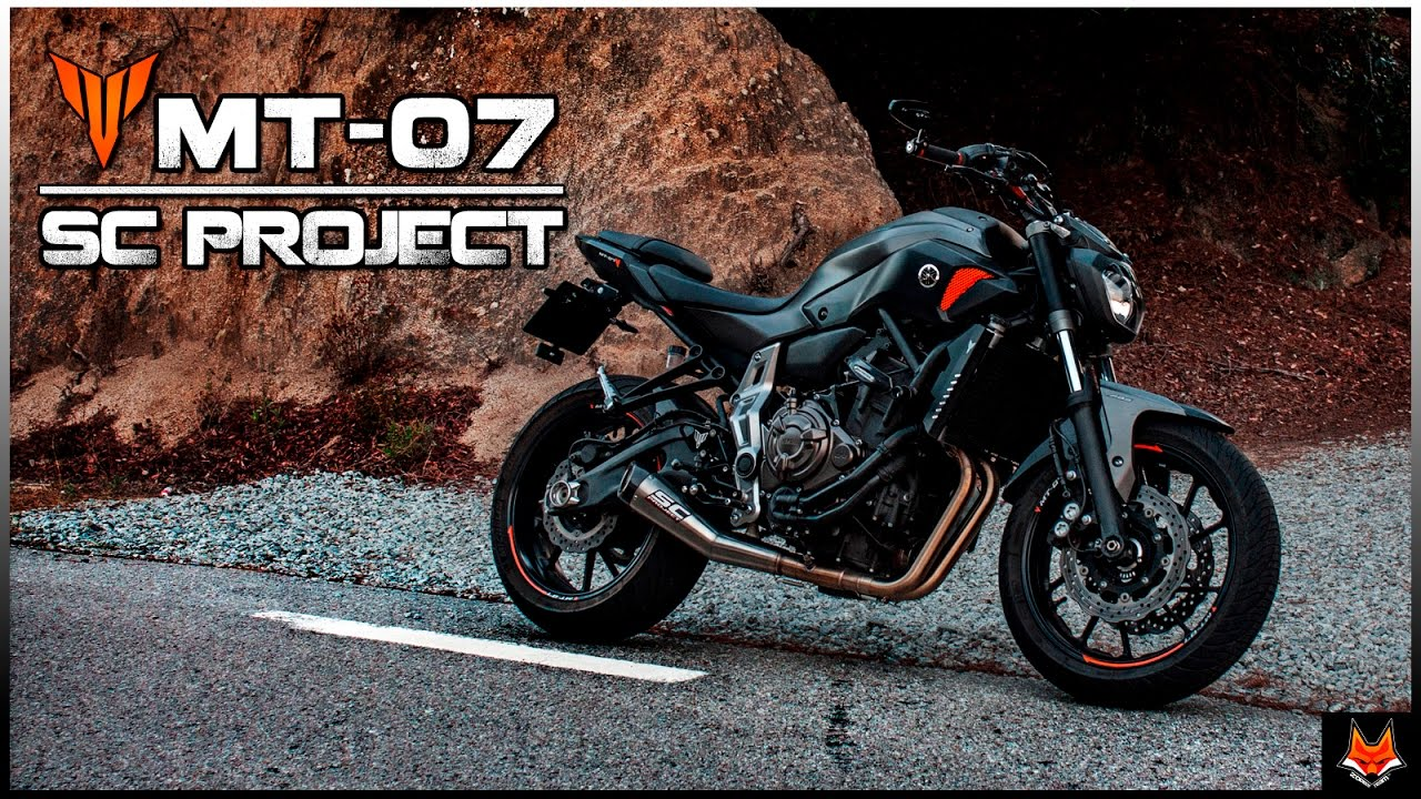 yamaha mt 07 fz 07 sc project conic sound acceleration fly by youtube. Black Bedroom Furniture Sets. Home Design Ideas